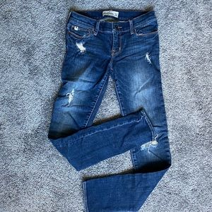 Abercormbie kids slim fit jeans